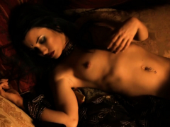 Sexy Brunette Has Body For Love With Seduction Moves