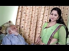 Desi Girl interested to fuck with oldman